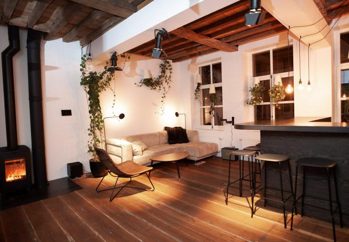 Living op eerste verdieping