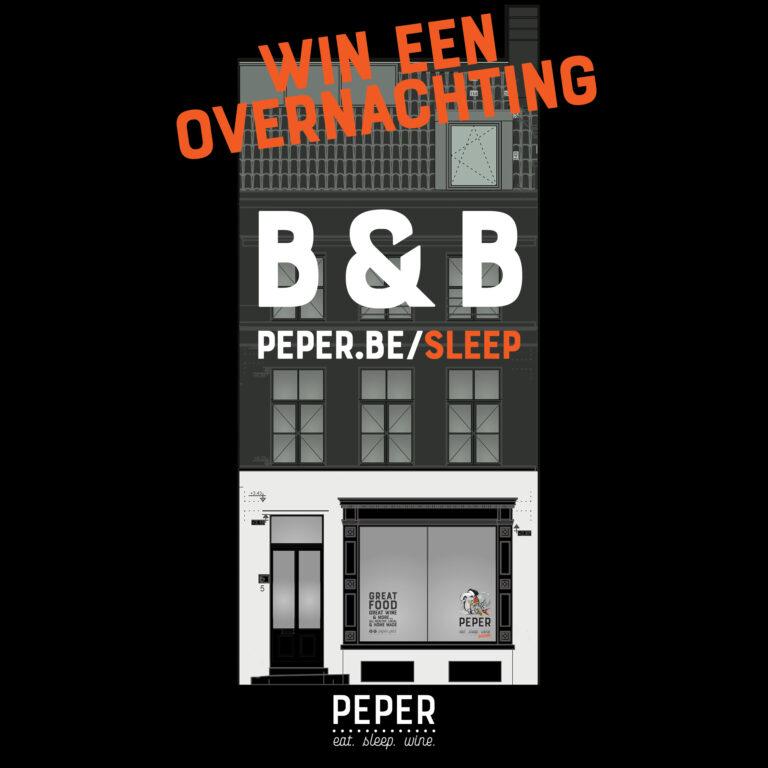 Win een nacht in onze B&B